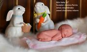 10mini Silicone Baby Doll Full Body Possition Baby