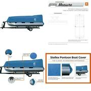 Stellex 21 Ft. To 24 Ft. Pontoon Boat Cover