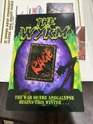 The Wyrm Ccg Limited Edition Rage Print Ad Promo Card Large Size Pop Up