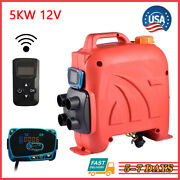 12v 5kw Diesel Air Fuel Heater Lcd Smart Blue Liquid Crystal Switch Boats Cars