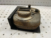 Briggs And Stratton 5hp Vintage Points Engine 130202 Oem Muffler And Heat Shield