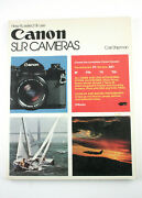U201544 How To Select And Use Canon Slr Cameras 1977 By Carl Shipman