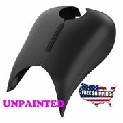 Us Stock Unpainted Stretched Tank Cover For Harley 2008-20 Touring Electra