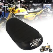 Seat Pad Racer Replacement Mini Black Cafe Tail For Honda Z125 Monkey 125 18-21