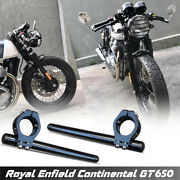 Diablo Clip On Handlebar Cnc For Royal Enfield Gt650 And Insepter650 2018-2021