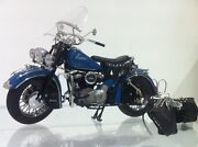 1948 Indian Chief Motorcycle 110 Scale Diecast Metal Model Mib
