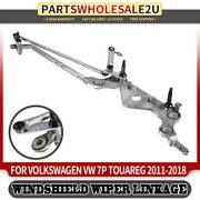 Front Windshield Wiper Linkage Transmission For Volkswagen Touareg 2011-2018 Suv