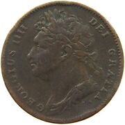 Great Britain Farthing 1822 A12 503