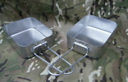 British Army Surplus Mess Tins Sets / Kit / Billy Cans Excellent Conditions