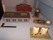 N Scale Train Building Lot Shell Tank Industrial Warehouse Types Read Disc