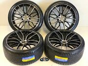 19 Inch Wheels Rims And Tires Fit Bmw 3 4 5 M Package P 5x1120 Machined Black