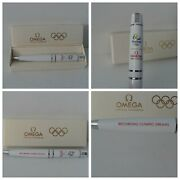Omega Watch Rio 2016 Olympics Pen - Rare - Limited Production - Excellent Cond