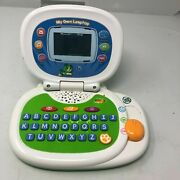 Leapfrog Leap My Own Leaptop Laptop Toy Green Blue Computer Learning
