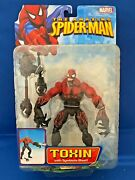 Toy Biz The Amazing Spider-man Toxin With Symbiote Blast Action Figure New Rare