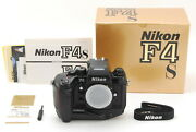 【top Mint Boxed】nikon F4s 35mm Slr Film Camera Body S/n255xxxx From Japan-2734