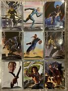 2020 Marvel Masterpieces Trading Cards Complete Tier 1-2 Base Set 1-63 Palumbo