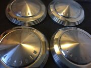 Vintage Mercury Comet-cyclone Dog Dish Hubcaps Wheel Covers Center Caps Vg