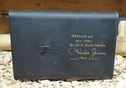 Charlie Joiner 1921-2015 Chestertown Md 1941 Replica Black Duck Decoy Can