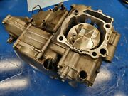 2007 07 Suzuki Rmz 450 Rmz 450 Bottom End Engine Case Crankshaft Motor Block Cas