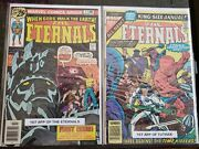 The Eternals 1 Marvel Comics And The Eternals 1 Annual Higher Grade New Movie🔥