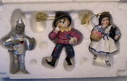 The Wizard Of Oz Storybook Heirloom Ornaments Ashton Drake 1999 By Mary Tretter