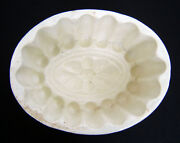 Antique 19th Century Victorian Ironstone Pudding Jelly Aspic Food Mold Mouldould