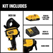 Dewalt 20v Max Li-ion Cordless Cable Cutting Tool Kit With Battery 2ah Charger