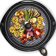 Indoor/outdoor Portable Electric Barbecue Grill Cooking Smokeless Bbq Nonstick