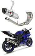 Yzf R6 Exhaust Full System Collector Silencer Muffler Hp1 2017 - 2020