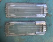 1941-49 Cadillac Dome Light Lens And Frame For Show Car T-04284