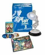 Toy Story 3 Luxo Jr. Lamp Led Light On / With Blu-ray And Dvd Collectors Box Mib