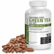 Bronson Green Tea Extract Boost Metabolism And Weight Loss 500mg 100 Capsules