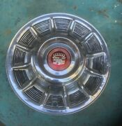 1957 Cadillac Hubcap Unmolested Oem With Center Emblem...show Cap