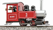 Accucraft Trains - Ruby 0-4-0 Freelance Red Ready To Run Live Steam