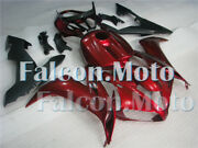 Red Matte Black Complete Abs Injection Fairing Fit For 2004 2005 2006 Yzf R1 Iad