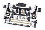 4 Zone Offroad Lift Kit With Nitro Shocks F41n Fits 2014 Ford F150 4wd