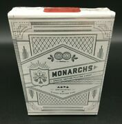 Rare Theory11 Monarchs Playing Cards - Eleven Madison Park Custom Edition