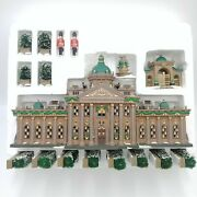 Dept 56 Ramsford Palace Set Of 17 Dicken's Village Heritage Collection