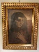 Antique Original Oil Painting 28x20signed Curt Ullrich 1900andrdquo12pics.make Offer