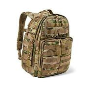 Tactical Backpack Andndash Rush 24 2.0 Andndash Military Molle Pack Ccw And Laptop Multicam