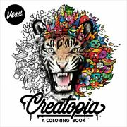 Creatopia A Coloring Book By Vexx New