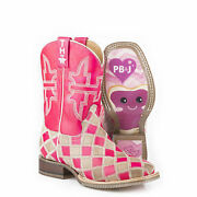 Tin Haul Boots Tin Haul Little Kids Pretty In Pink Boots