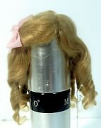 Imported French Mohair Wig - Emilie - French Or German Size 1 Dark Blond