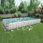 New Bestway Power Steel 31and0394 X 16and039 X 52 Rectangular Pool Set Pickup Boston