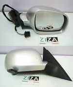 Rearview Mirror Outer Right Electric Vw Passat 2002 3b0857934 Grey