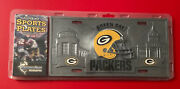 Green Bay Packers Decorative License Plate Nfl Football Cast Iron Steel Metal
