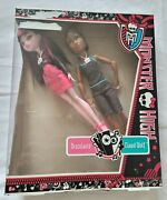 Monster High - Music Festival Draculaura And Clawd Wolf - 2013 - Mattel - Boxed