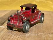 1930's A.c. Williams Cast Iron Ford 2 Door Coupe