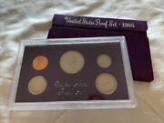 1985-s United States Us Mint Proof Set-original Government Packaging