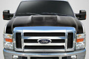 Carbon Creations Gt500 V2 Hood - 1 Piece For 2008-2010 Super Duty F250 F350 F450